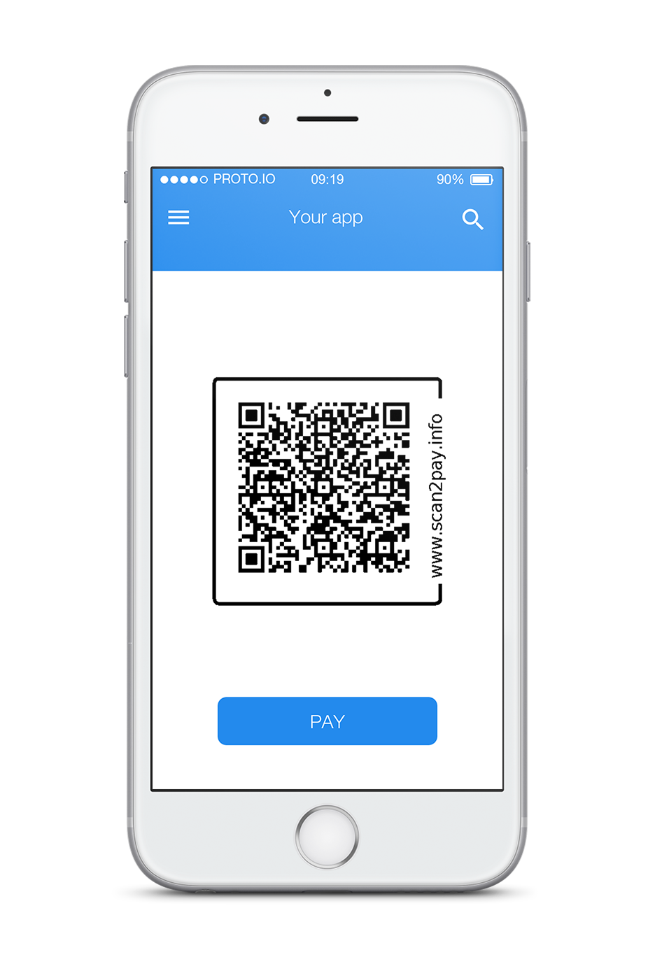 Scan2pay Qr code app scan pay done